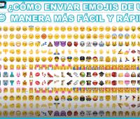¿Cómo enviar emojis de una manera más fácil y rápida?
