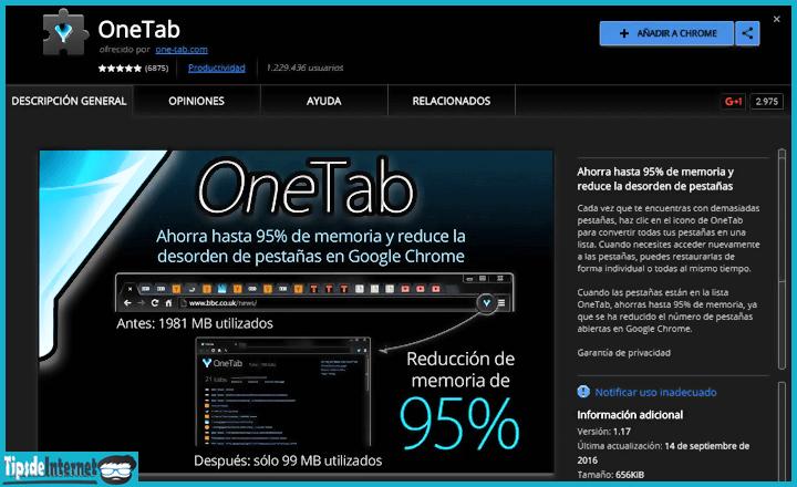 extension-de-one-tab-para-google-chrome