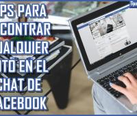 Tips para encontrar cualquier foto en el chat de Facebook