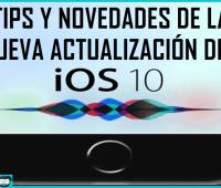 Tips y novedades de la nueva actualización del iOS 10.2