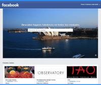 Cómo descubrir con Facebook los mejores lugares para visitar