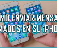 ¿Cómo enviar mensajes animados en su iPhone?