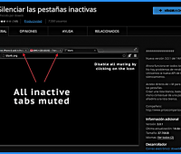 Cómo silenciar las pestañas inactivas del navegador