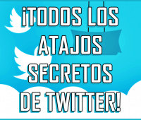 ¡Todos los atajos secretos de Twitter!