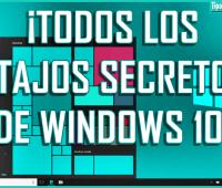 ¡Todos los atajos secretos de Windows 10!